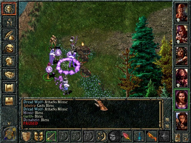 Baldur's Gate 1 Screenshot
