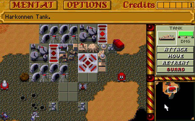 Dune 2 Screenshot