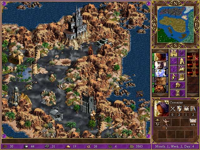 Heroes of Might and Magic 3 Screenshot